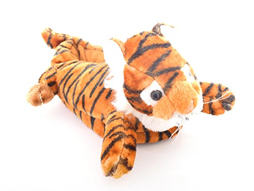 Monster Hausschuhe für Männer und Frauen: Kuriose Terrence Tiger Tier Hausschuhe