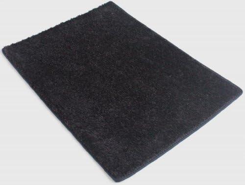Koeckritz 12 X12 Square Blackest Black 25.5 oz 1 2 Thick Plush Cut Pile Indoor Carpet Area Rug