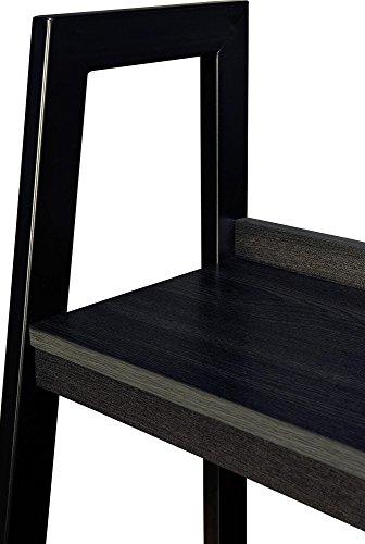 Ameriwood Home Lawrence 4 Shelf Ladder Bookcase Bundle, Black by Ameriwood Home (Image #7)