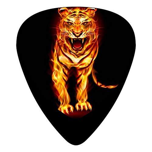 - Fire-Tiger Celluloid Guitar Picks Music for Boyfriend 12-Pack (Black)