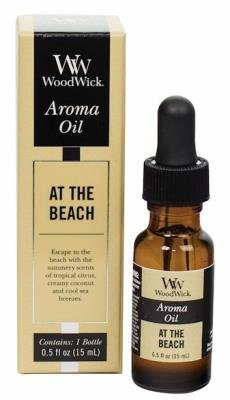 WoodWick AT THE BEACH Aroma Fragrance Oils for Ultrasonic Diffusers ()