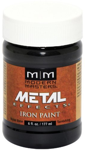 Modern Masters ME208-06 Reactive Metallic Iron, 6-Ounce by Modern Masters Iron Palm Conditioning