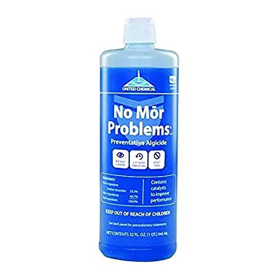 United Chemical No Mor Problems Swimming Pool Algaecide - 1 Quart by United Chemical Corp.
