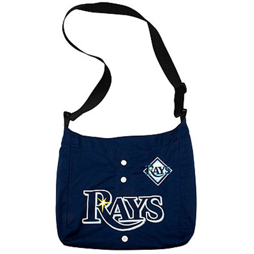 Tampa Bay Rays Ladies Navy Blue Veteran Jersey Tote Bag ()