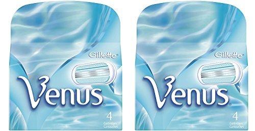 Gillette Venus Womens Razor oweinn Blade Refills, Venus Original, 4 Cartridge (Pack of 2)
