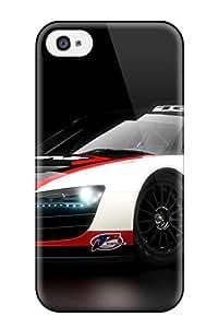 Julia Hernandez's Shop Hot 1691690K31293502 Iphone 4/4s Case Cover Skin : Premium High Quality Audi R8 Lms 3 Case