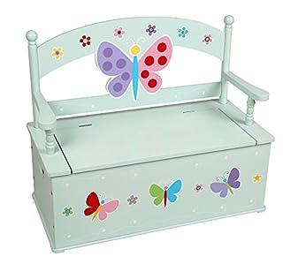 Wildkin Olive Kids Butterfly Garden Toy Box Bench (B01CDZLU4Y)   Amazon Products