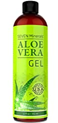 Organic Aloe Vera Gel with 100% Pure Alo...