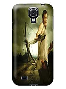 The cool The Walking Dead Daryl Dixon fashionable TPU Design for Samsung Galaxy s4 plastic Hard Case