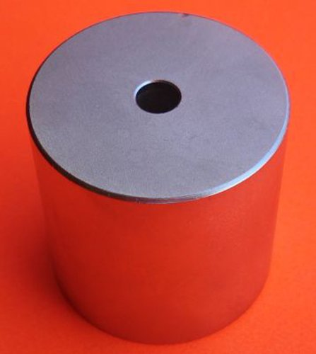"""Applied Magnets® 2"""" x 2"""" with 1/4"""" Hole Grade N45 Neodymium Disc Magnet"""