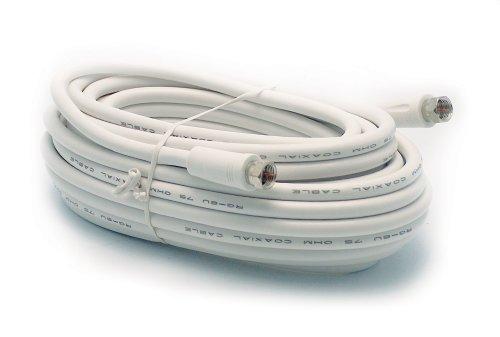 Metronic 438040 Prolongateur Blanc male 10m Male a connectique F