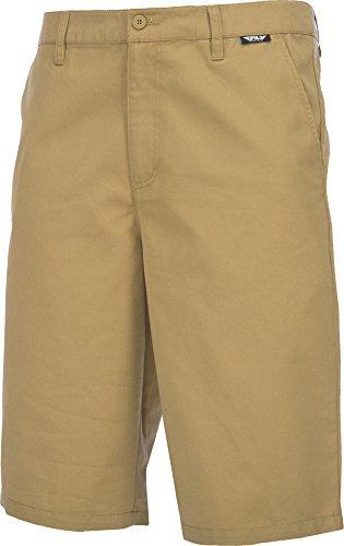Fly Racing 353-22738 Unisex-Adult Stock Shorts (Khaki, Size 38)