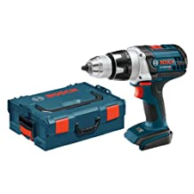 Bosch DDH181BL Bare-Tool 18-volt Lithium-Ion Brute Tough 1/2-Inch Heavy Duty Drill/Driver with L-BOXX-2 and Exact-Fit Tool Insert Tray