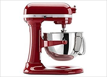 KitchenAid KP26M9XCER 6-Quart Bowl-Lift Professional [Discontinued] Stand Mixer, Empire Red (Best Kitchenaid Stand Mixer)
