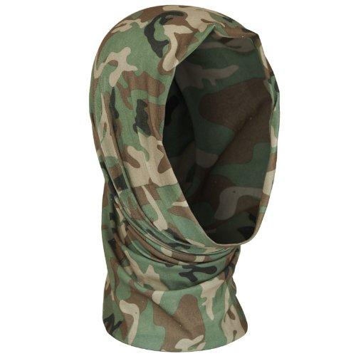 - Mil-Tec Multi-functional Headscarf (Woodland Camo)