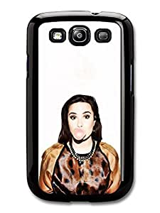 AMAF ? Accessories Demi Lovato Chewing Gum Singer Popstar case for Samsung Galaxy S3