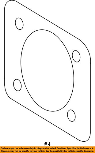 NEW TOYOTA OEM-Brake Booster Assembly Gasket 4478507010 ()