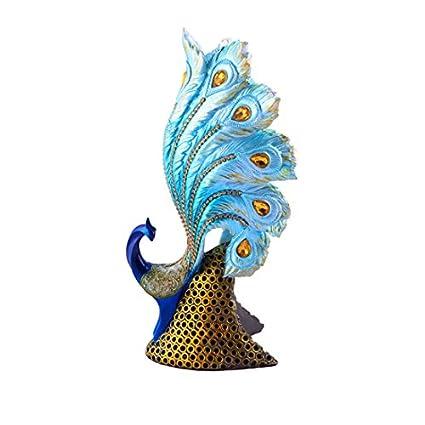 Exceptionnel Ethnic Karigari Home Decor Designer Table Top Decorative Show Pieces Items:  3d Peacock Theme Decor