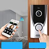 Tools & Hardware : Oguine Wireless Smart 1080P HD Security WiFi Camera Video Doorbell Door Viewers (Silver)