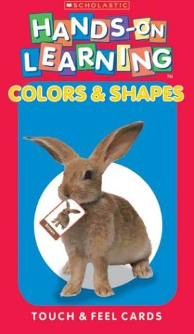Hands-On Learning Touch and Feel Cards : Colors & Shapes (Scholastic Hands-on Learning)