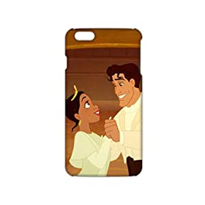 Evil-Store Cartoon lovely couple 3D Phone Case for iPhone 6