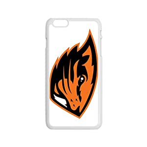 NCAA Oregon State Beavers Primary 2013 White Phone Case for iPhone 6