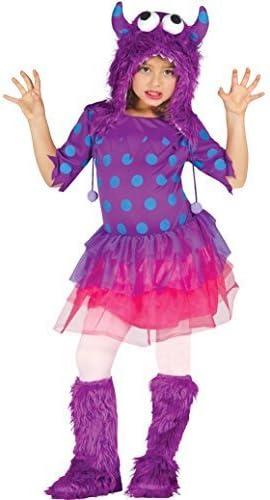 Disfraz de monstruo de Halloween, color rosa o azul, para niñas de ...