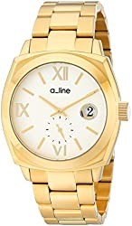 "a_line Women's AL-80014-YG-22 ""Dashuri"" Gold Ion-Plated Watch"