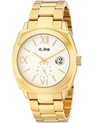 a_line Womens AL-80014-YG-22 Dashuri Gold Ion-Plated Watch