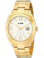 a_line Womens AL-80014-YG-22 Dashuri Gold Ion-Plated Watch