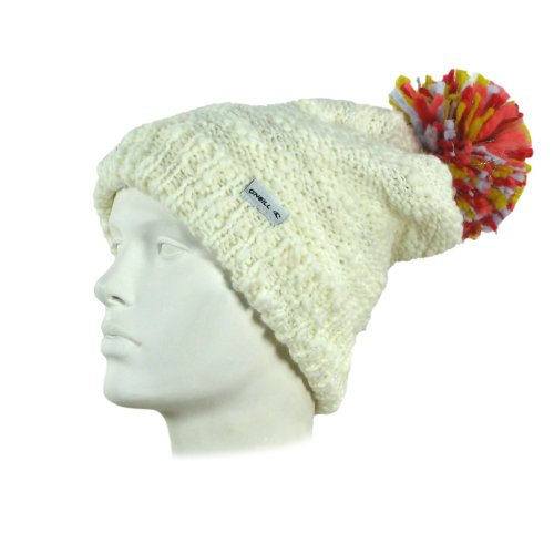 O'Neill Juniors Sainte Anne Beanie, Powder White, One Size