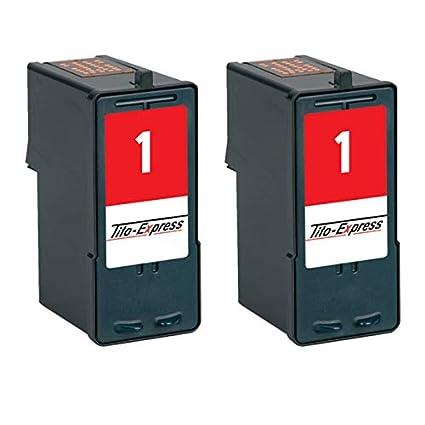 Gorilla-Ink Cartuchos de Impresora para Lexmark No. 1 Unidad ...
