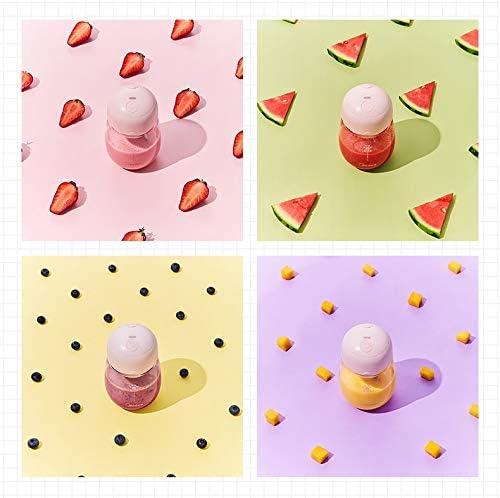 SPNEC PLKJZ Exprimidor de Hogares de la pequeña Fruta de múltiples Funciones Portable del Zumo de Fruta cafetera eléctrica Completa Copa exprimidor automático
