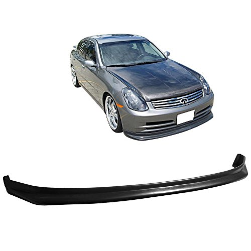 03-04 Infiniti G35 2 Door Sedan N1 Style Add-On Front Bumper Lip Spoiler Urethane ()