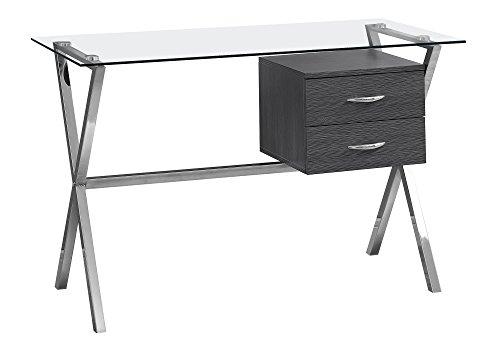 i 7216 computer desk chrome