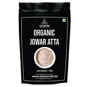Naturevibe Botanicals Organic Jowar Atta [Sorghum] – 1Kg