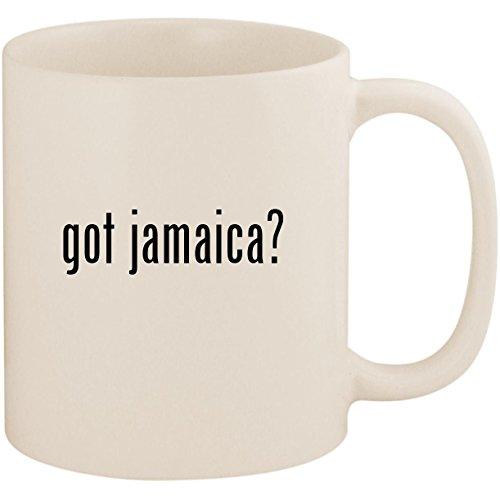 got jamaica? - 11oz Ceramic White Coffee Mug Cup, White