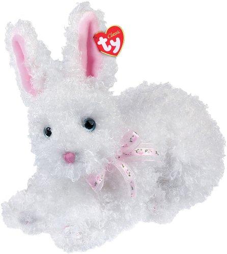 Ty Presto - White Curly Rabbit