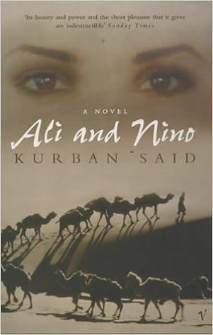 Ali And Nino Book
