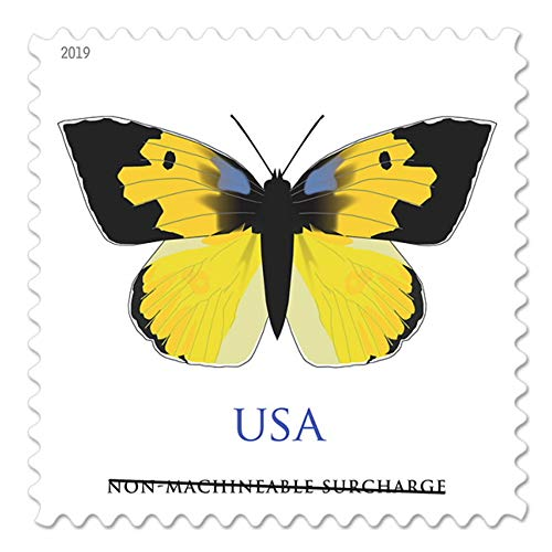 2019 US California Dogface Butterfly Sheet of Twenty Non Machinable Forever Postage Stamp (5 Sheets of 20)