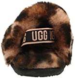 UGG Baby Girls I Fluff Yeah Slide Panther Print