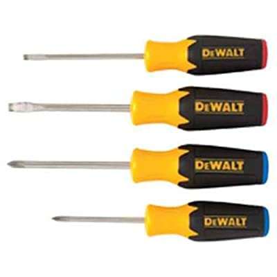 DEWALT DWHT62512 4Pc. Screwdriver Set