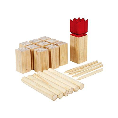 SPORT BEATS Wooden Kubb Set Premium Yard Games by SPORT BEATS