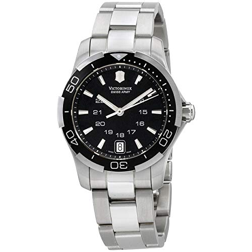 Victorinox Swiss Army Women's 241305 Alliance Sport Lady Black Dial Watch ()