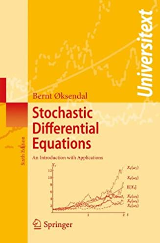 stochastic differential equations an introduction with applications rh amazon ca Stochastic Differential Equation Explained Stochastic Partial Differential Equations