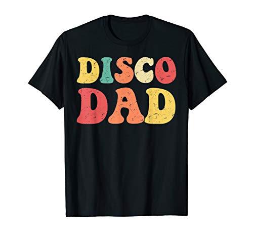 Disco Dad T-Shirt 1970s Disco King Matching Couple -