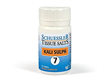 Schuessler Kali Sulph No 7 125 Tablet (order 108 for trade outer)