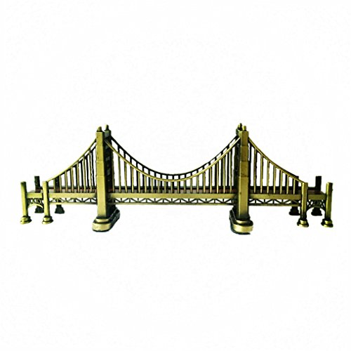 Golden Gate Bridge 24.5cm(9.6inch) Souvenir Statues,Tabletop Decoration and Children's Gifts