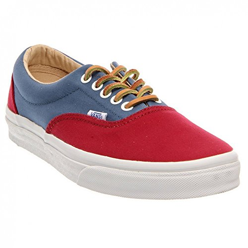 Vans Era CA, Brushed Twill biking red steel Brushed Twill biking red steel