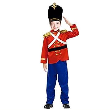 Partilandia Disfraz Soldadito de Plomo para niño Navidad 4-6 años